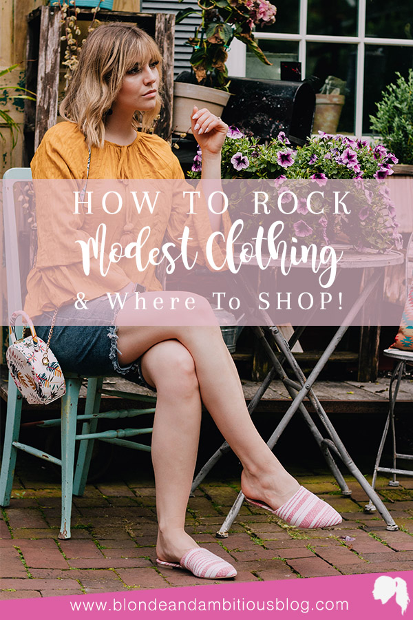 How To Rock Modest Clothing In The Summer + Where To SHOP!