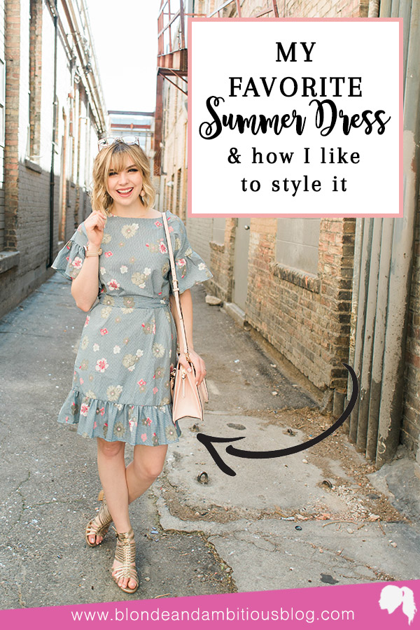 My Favorite Summer Dress + May 2018 GOALS