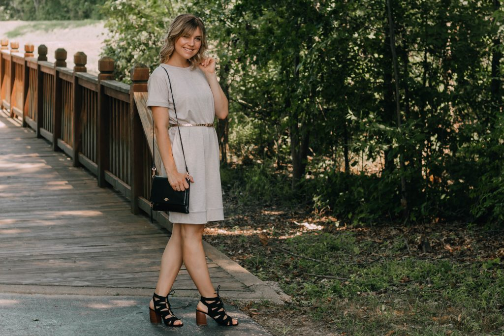 Comfy Chic: How To Dress Up The ULTIMATE T-Shirt Dress
