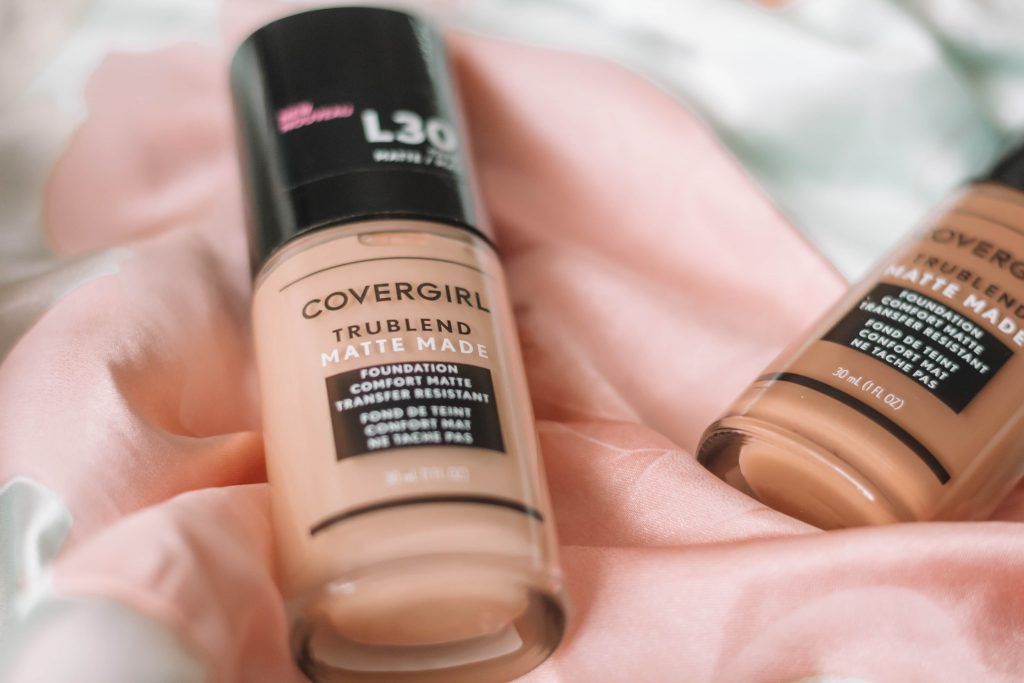 Covergirl TruBlend Matte Made Foundation Review + 10 Hour Wear Test