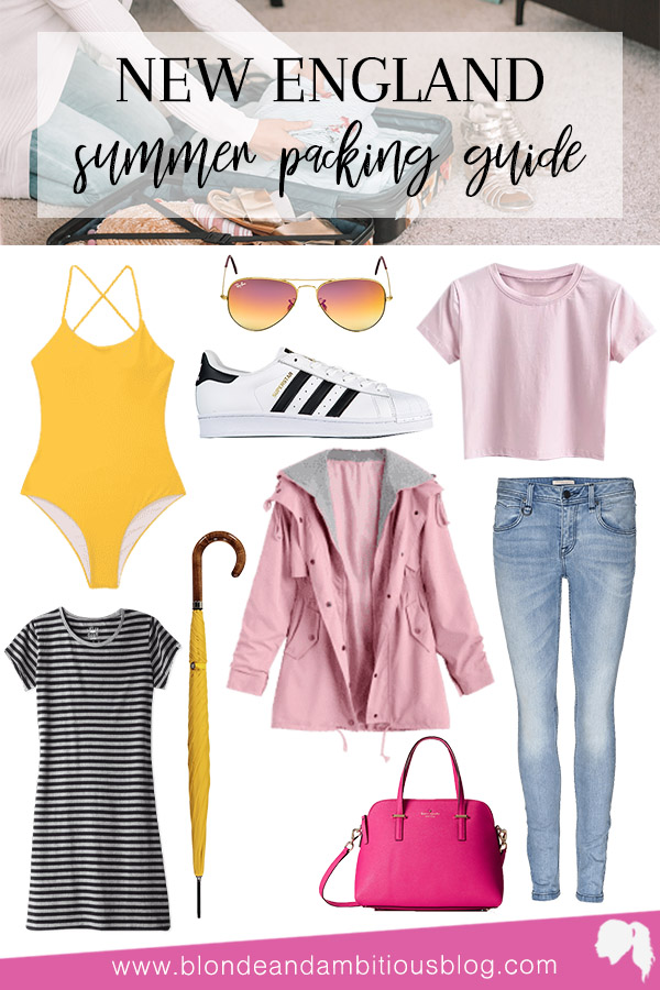 How To Pack For A New England Summer Vacation