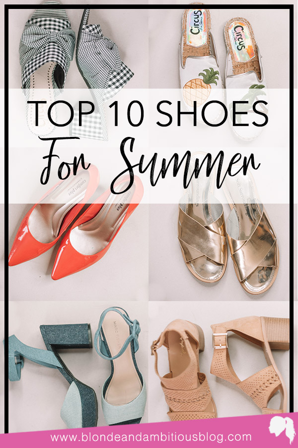 10 Shoes You NEED For Summer