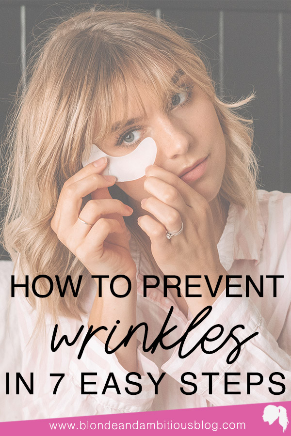 How To Prevent Wrinkles - The Easy Way