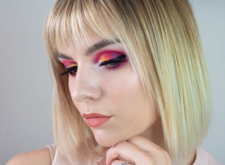 Sunset Gradient Cut Crease Tutorial