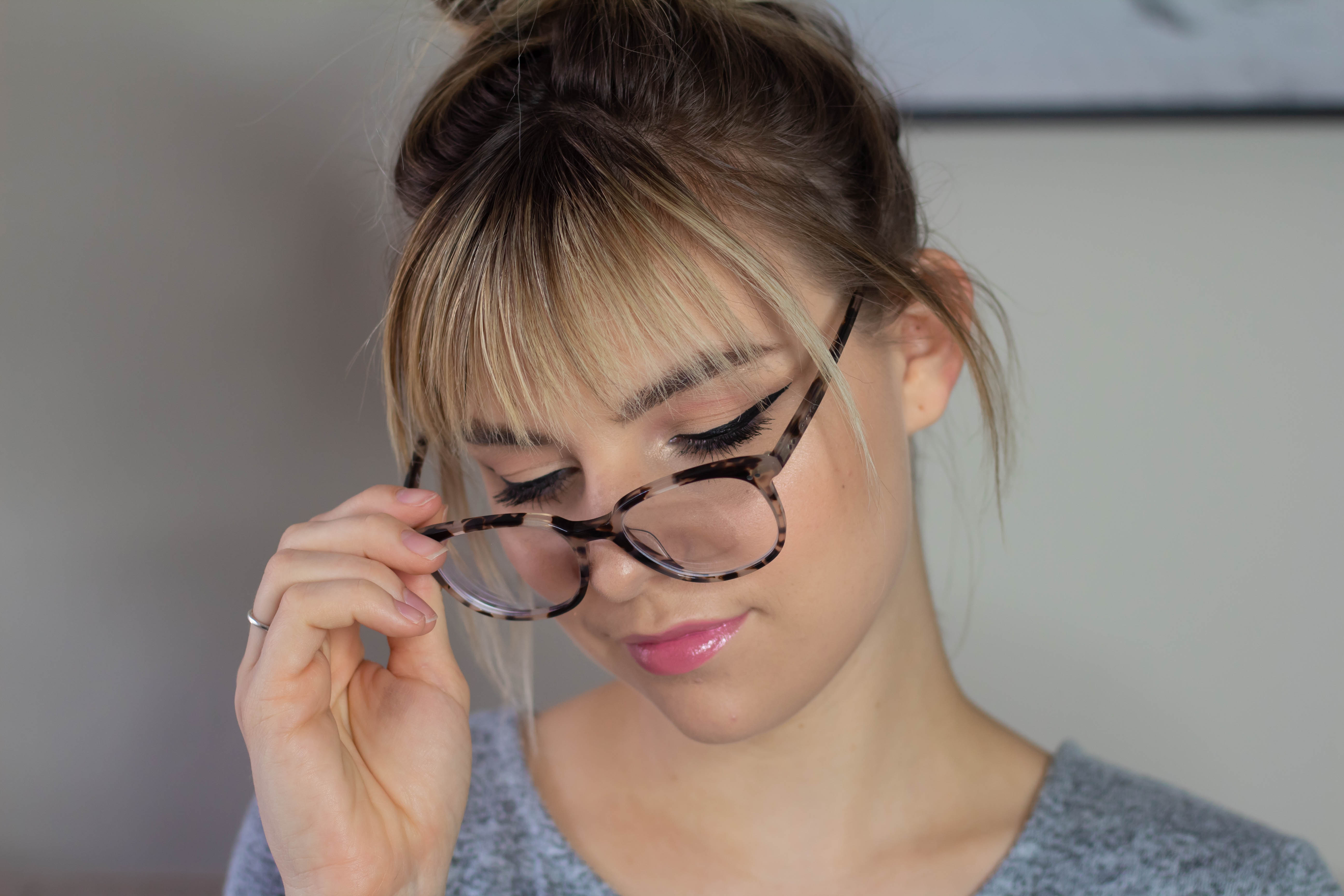 Back To School Makeup Tutorial | For My Girls With GLASSES!