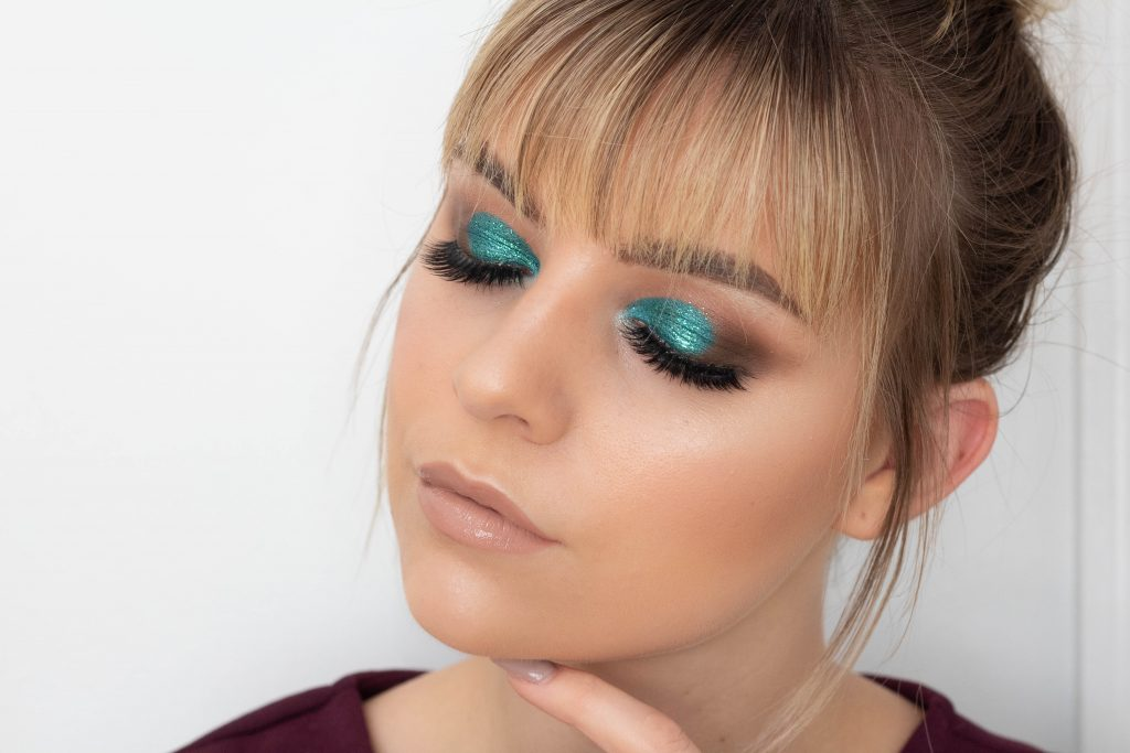 Teal & Cool Brown Smokey Eye Tutorial