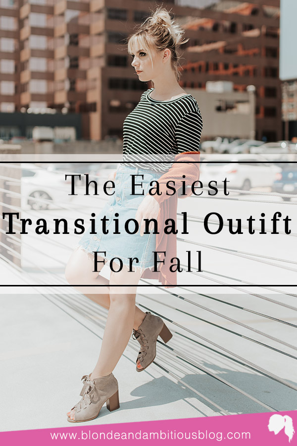 My Favorite Fall Transitional Outfit