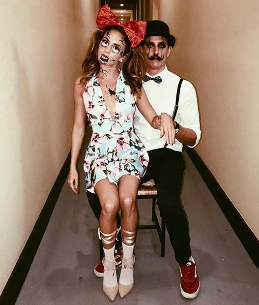 12 Creative Couple Costumes For Halloween