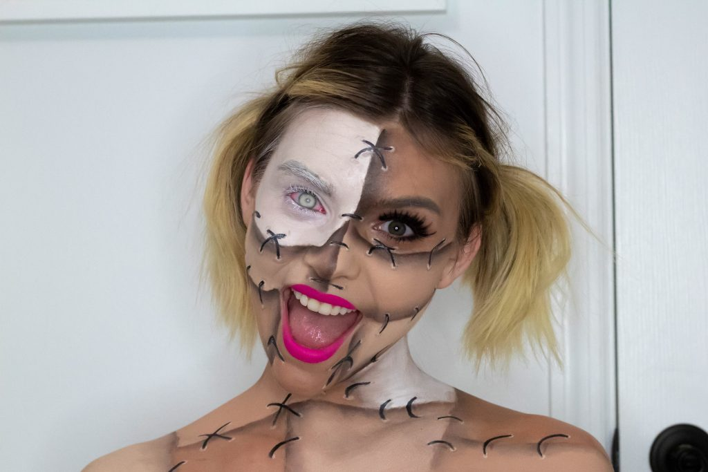 HALLOWEEN TUTORIAL SERIES: THE STITCHED DOLL