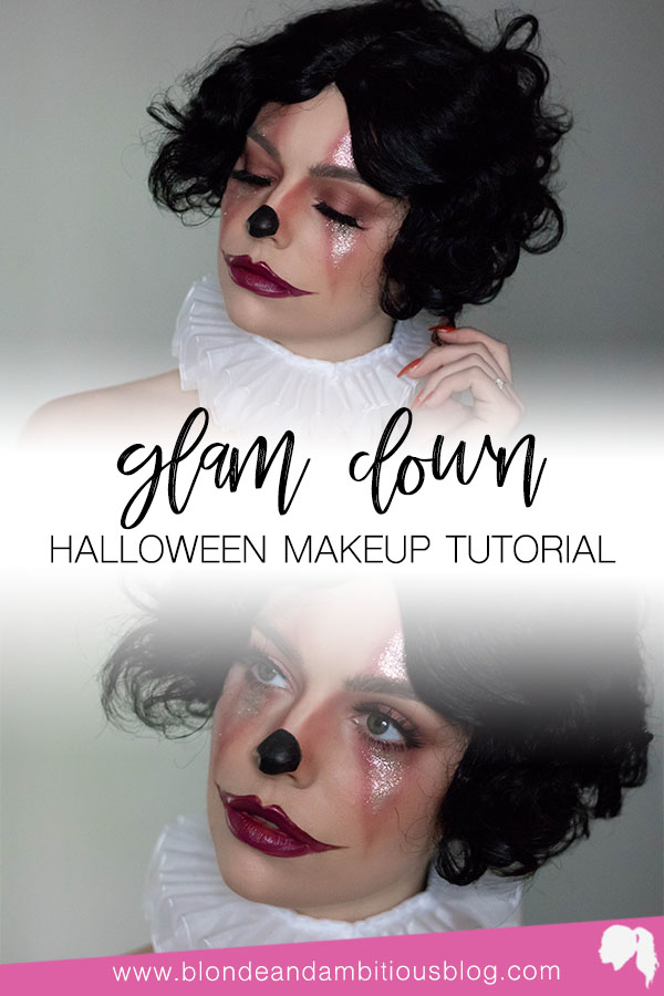 HALLOWEEN TUTORIAL SERIES: GLAM CLOWN