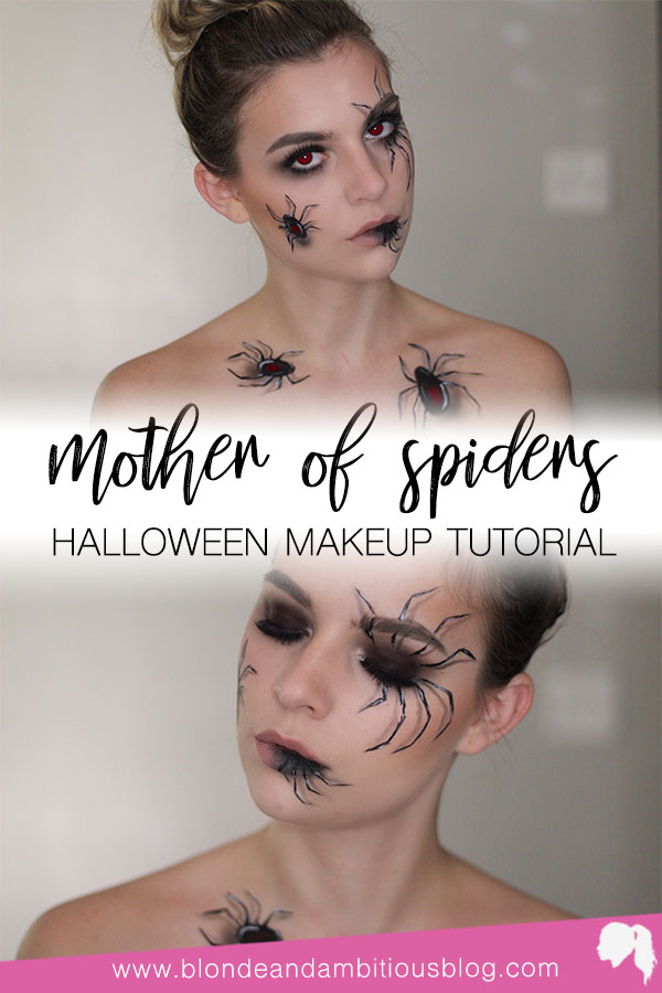 HALLOWEEN TUTORIAL SERIES: MOTHER OF SPIDERS