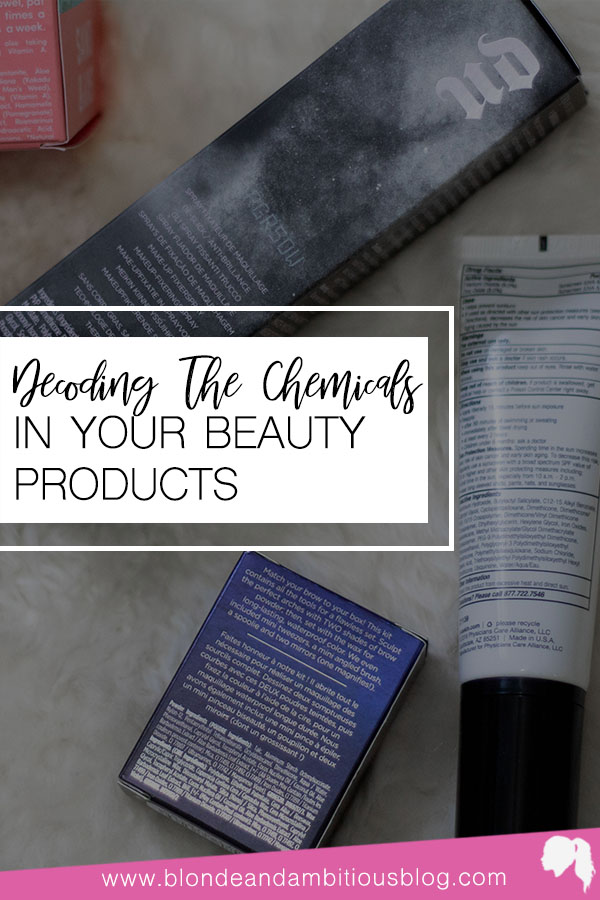 Decoding The Chemicals In Your Beauty Products
