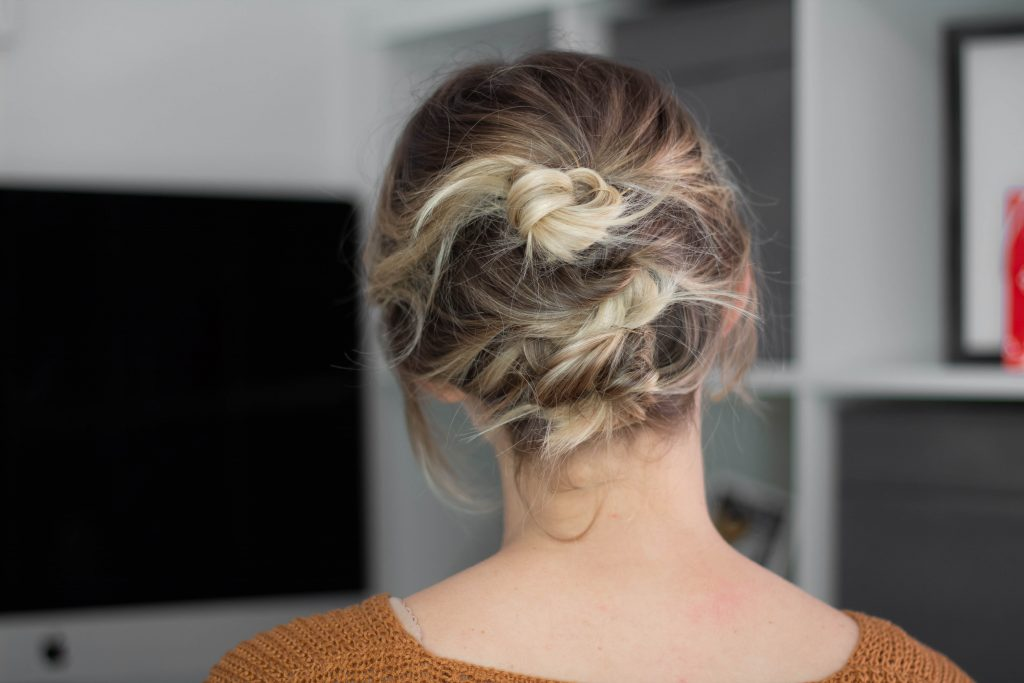 Easy Holiday Hair Tutorial