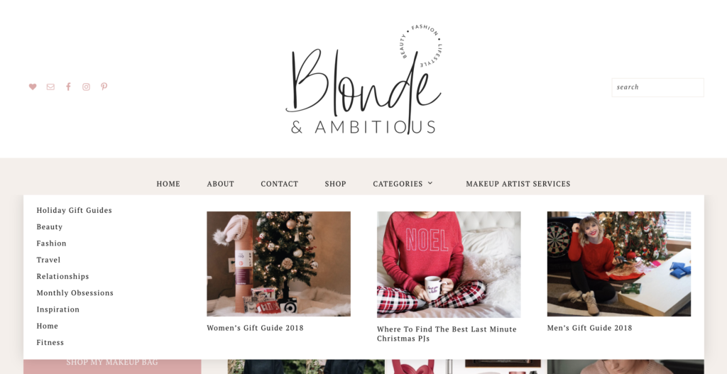 HAPPY HOLIDAYS - BLONDE & AMBITIOUS GOT A FACELIFT!
