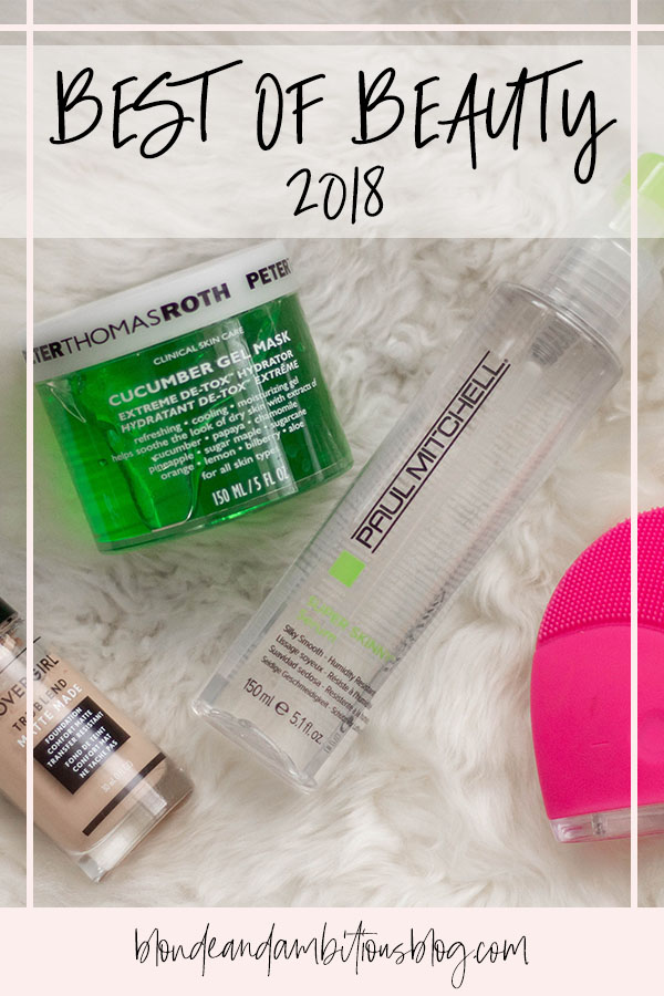 Best Of Beauty 2018 - My TOP FAVORITE Products