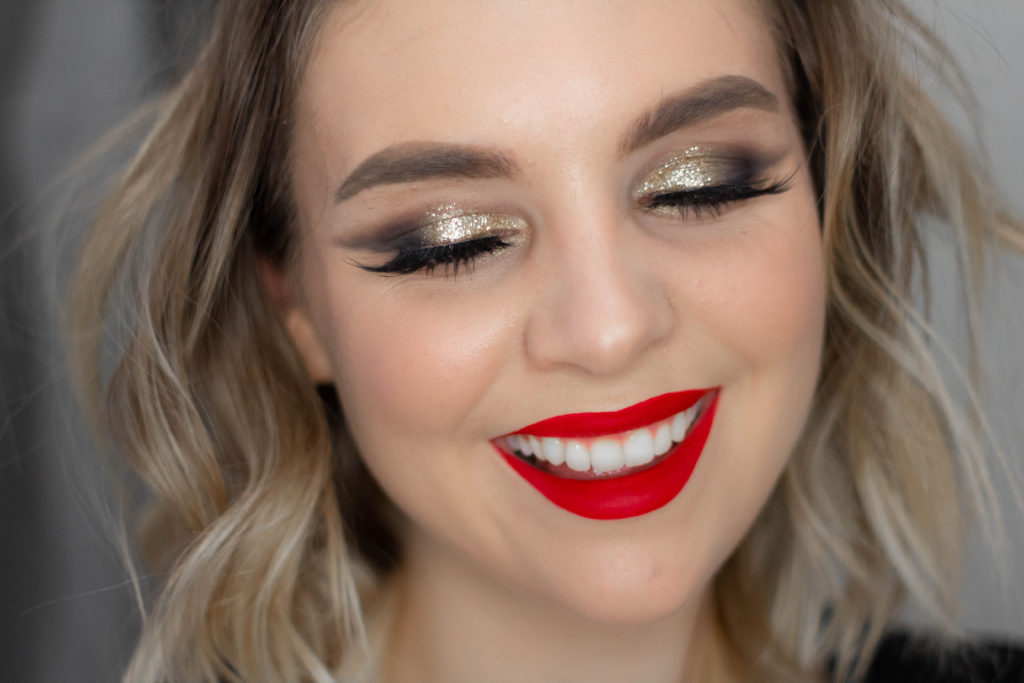 Easy Christmas Party Glam Tutorial