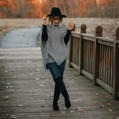 Cozy Winter Poncho Look: A Revamped Trend To Try
