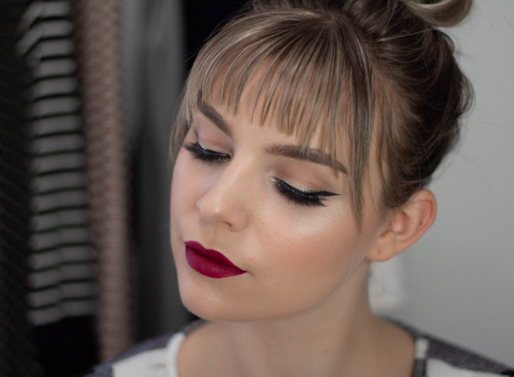 Simple Glam Christmas Day Makeup Look