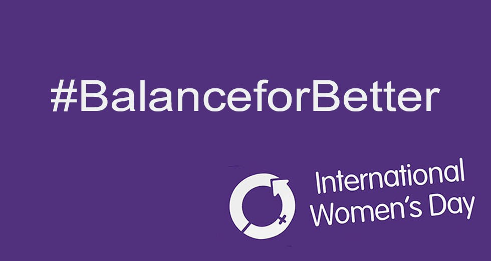 9 Ways To Celebrate International Women's Day Logo