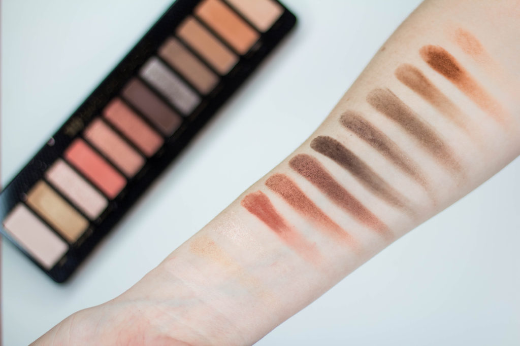 arm swatch of Naked Reloaded palette