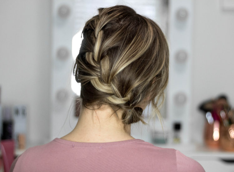 Easy Spring Hairstyle Tutorial - Side French Braid!