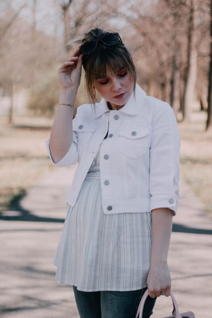 Introducing White Back Into Your Closet For Spring
