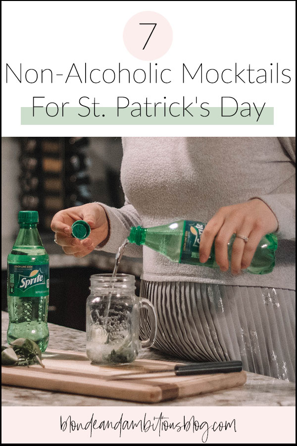 7 Non-Alcoholic Mocktails For St. Patrick's Day
