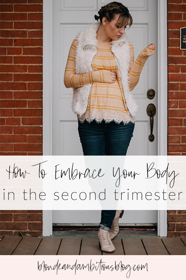 How To Embrace Your Body In The Second Trimester