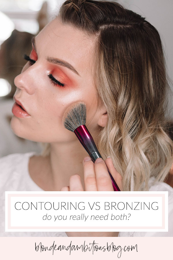 Why You Should Be BRONZING Not CONTOURING