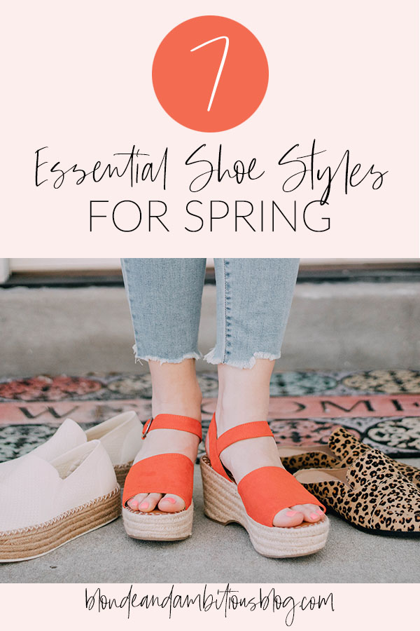 7 Essential Shoe Styles For Spring