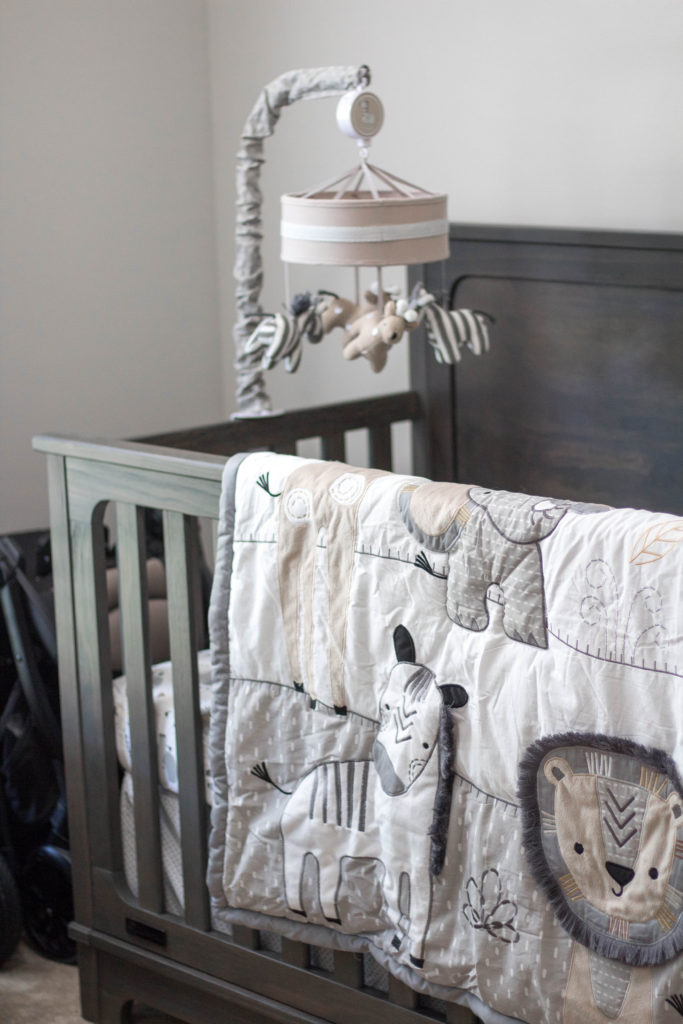 Neutral Safari Nursery Decor Reveal Blonde Ambitious Blog